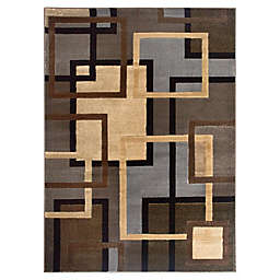 Home Dynamix Tribeca Links 7-Foot 10-Inch x 10-Foot 5-Inch Area Rug in Multicolor
