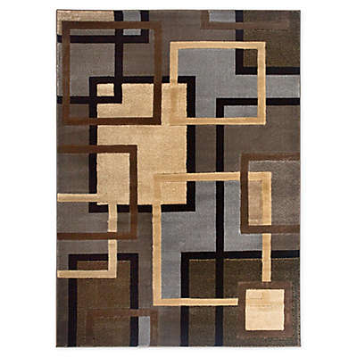 Home Dynamix Tribeca Links Area Rug in Multicolor
