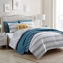 Jenavive 7-Piece Reversible Comforter Set