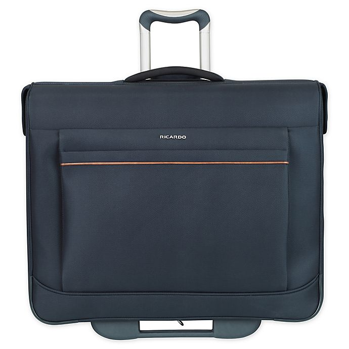 Alternate image 1 for Ricardo Beverly Hills® Sausalito 43-Inch Wheeled Garment Bag in Midnight Blue