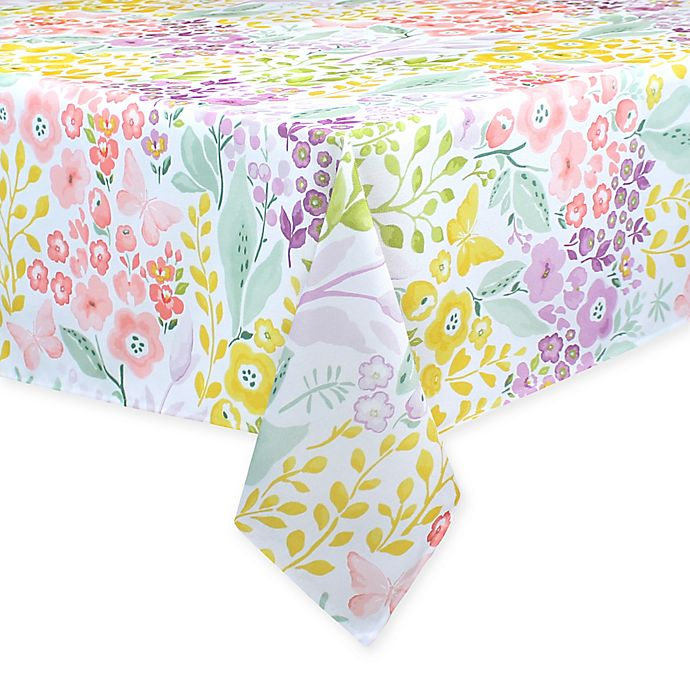 Alternate image 1 for Colordrift Morning Spring Indoor/Outdoor Table Linen Collection