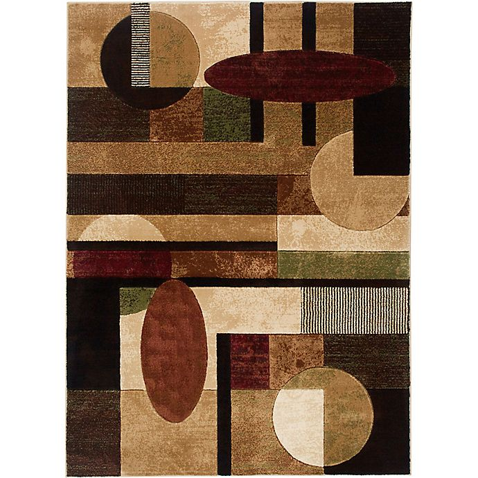 Alternate image 1 for Home Dynamix Tribeca Contemporary 3-Foot 3-Inch x 4-Foot 7-Inch Accent Rug in Multicolor