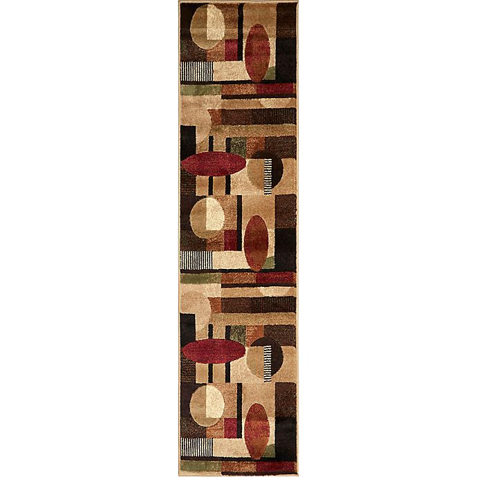 Alternate image 1 for Home Dynamix Tribeca Contemporary 1-Foot 9-Inch x 7-Foot 2-Inch Runner in Multicolor