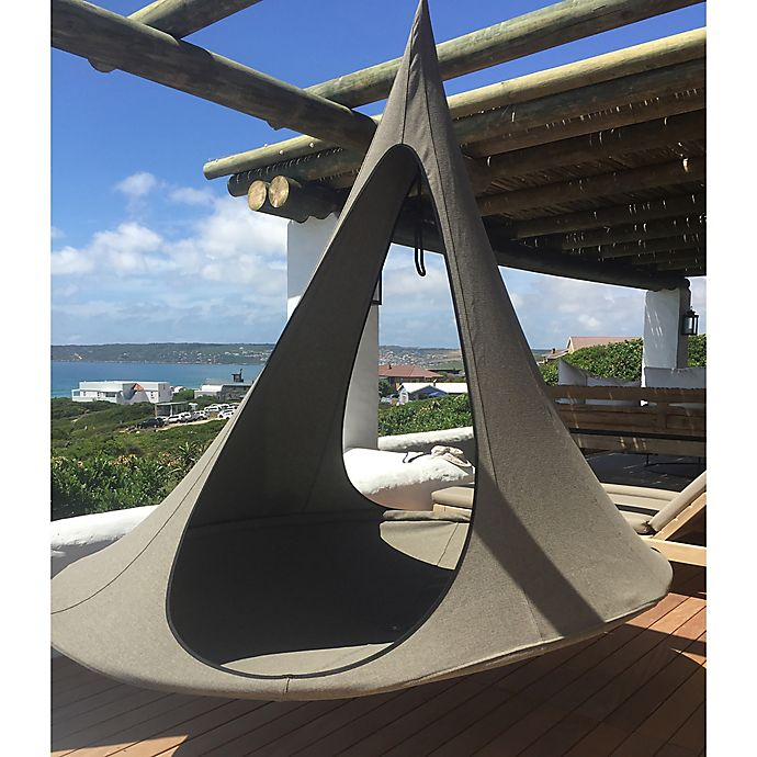 Vivere Songo Cacoon Hammock in Earth   Bed Bath & Beyond
