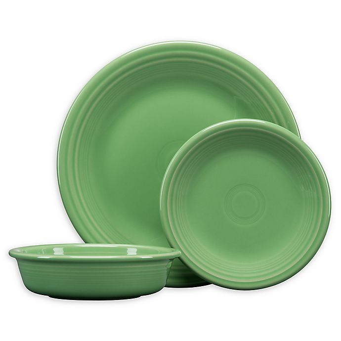 Alternate image 1 for Fiesta® 3-Piece Classic Place Setting in Meadow