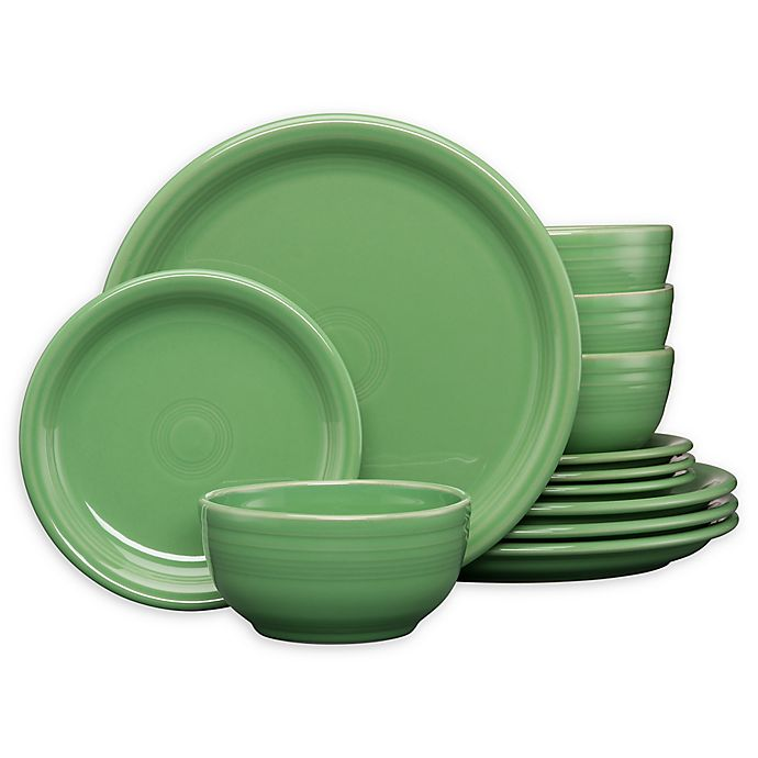 Alternate image 1 for Fiesta® 12-Piece Bistro Dinnerware Set in Meadow