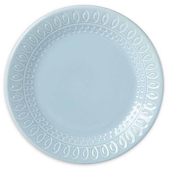Alternate image 1 for kate spade new york Willow Drive Blue™ Accent Plate