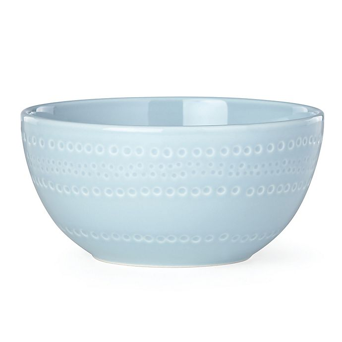 Alternate image 1 for kate spade new york Willow Drive Blue™ Cereal Bowl