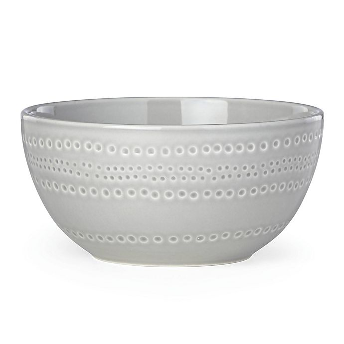 Alternate image 1 for kate spade new york Willow Drive Grey™ Cereal Bowl
