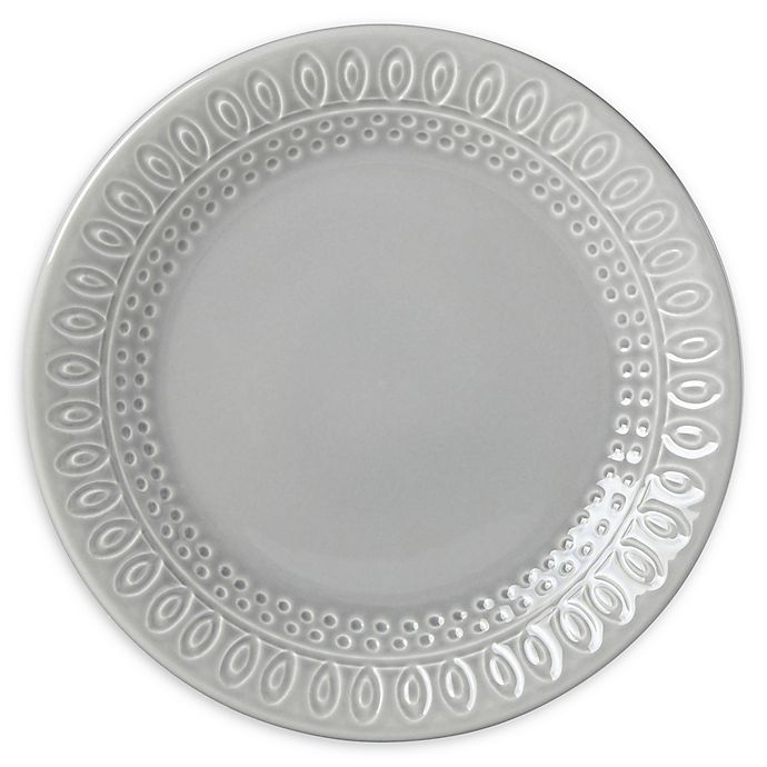 Alternate image 1 for kate spade new york Willow Drive Grey™ Dinner Plate