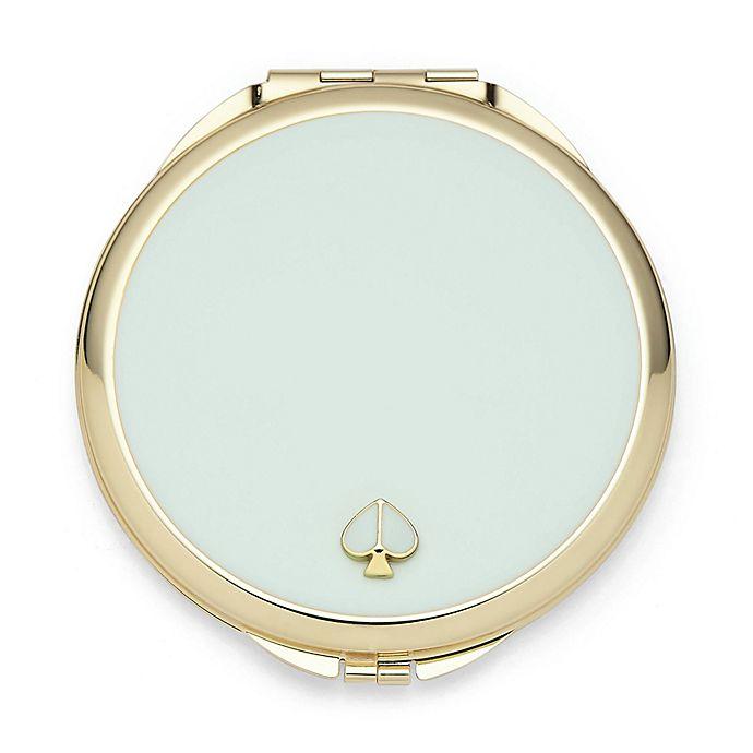 Alternate image 1 for kate spade new york Spade Street™ Compact Mirror in Aqua