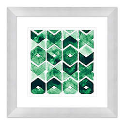 Emerald Design 15-Inch Framed Wall Art