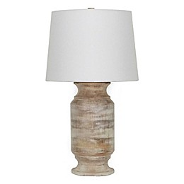 Bee & Willow™ Bowery Home Table Lamp in White Wash