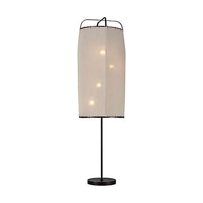 ED Ellen DeGeneres Dunne 4-Light Floor Lamp in Aged Iron