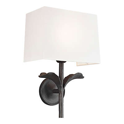 ED Ellen DeGeneres Georgia 1-Light Wall Sconce in Aged Iron