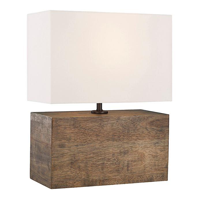 Alternate image 1 for ED Ellen DeGeneres Redmond Table Lamp in Oak