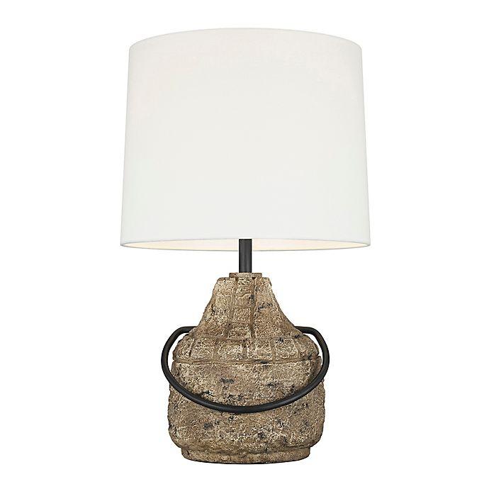 Alternate image 1 for ED Ellen DeGeneres Augie Table Lamp in Stone
