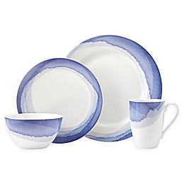 Lenox® Indigo Watercolor Stripe™ Dinnerware Collection