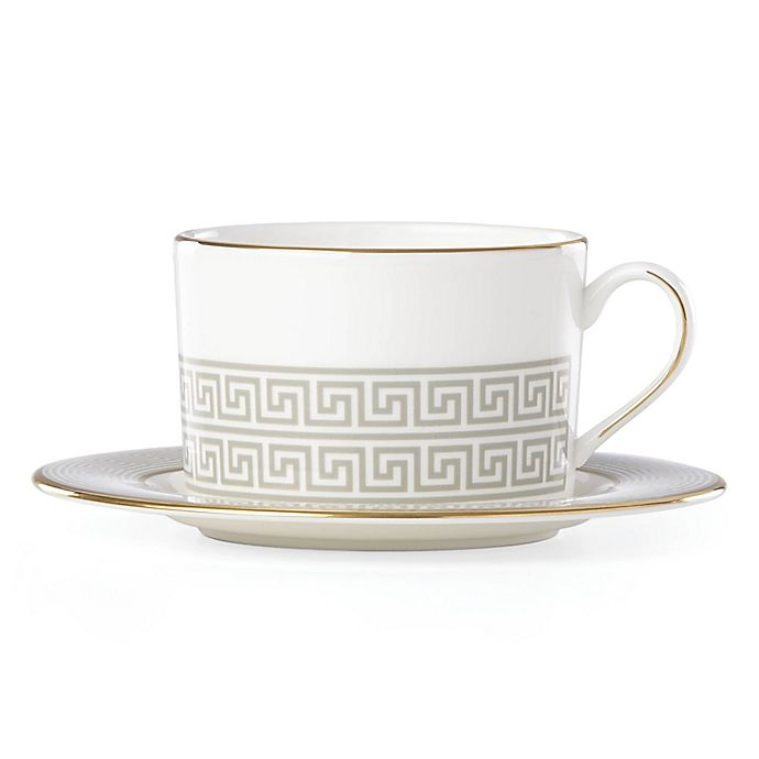 Alternate image 1 for Brian Gluckstein by Lenox® Delphi Cup and Saucer