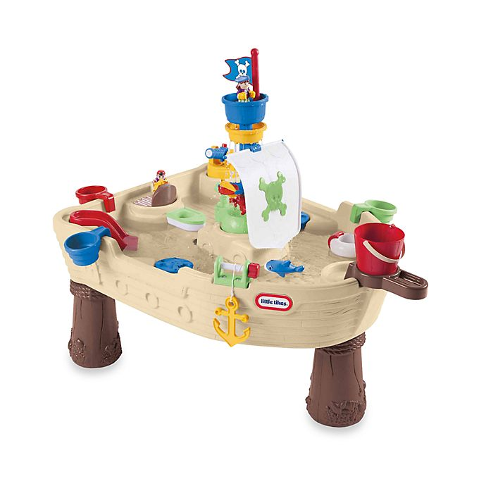 Alternate image 1 for Little Tikes™ Anchors Away Pirate Ship Water Table
