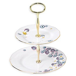 Royal Albert Alpha Foodie 2-Tier Server in Pink