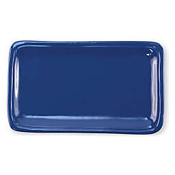 viva by VIETRI Fresh 12-Inch Rectangular Platter in Marine Blue