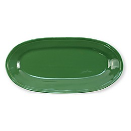 viva by VIETRI Fresh 16.25-Inch Narrow Oval Platter in Green