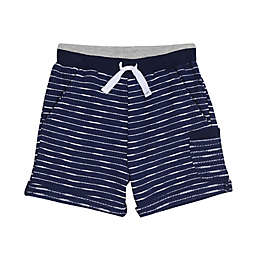 Splendid® Pull-On Stripe Short in Navy/White