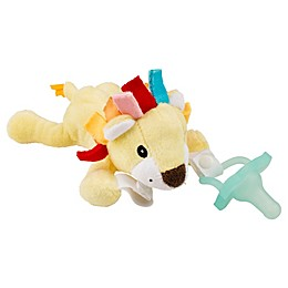 Dr. Brown's® Lonny the Lion Lovey Pacificer and Teether Holder in Yellow
