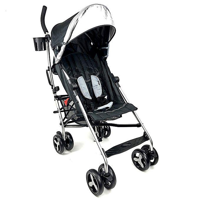 Alternate image 1 for Evezo Maxord Lightweight Umbrella Stroller in Grey