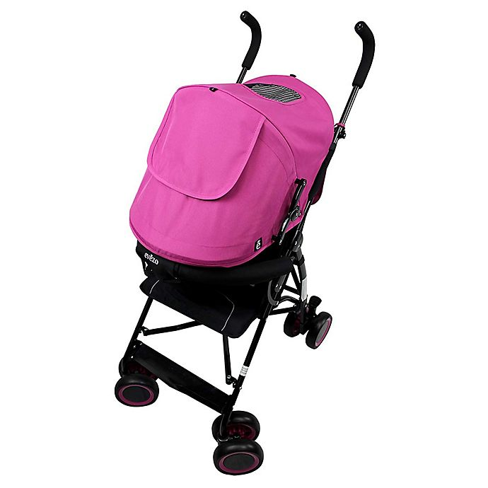 Alternate image 1 for Evezo Sander Lightweight Umbrella Stroller in Pink