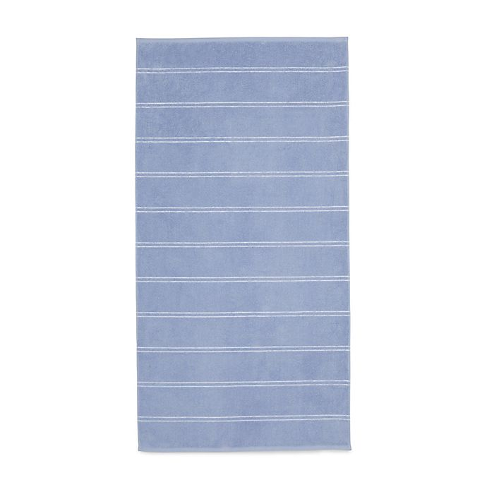 Alternate image 1 for Calvin Klein Eileen Bath Towel in Blue/White
