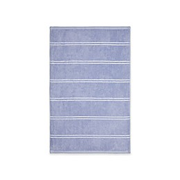 Calvin Klein Eileen Hand Towel in Blue/White