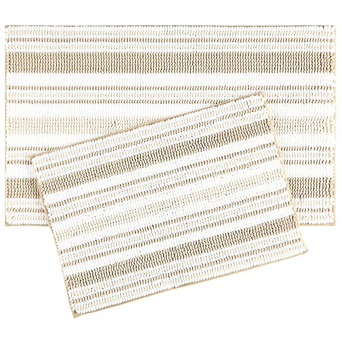Alternate image 1 for Trina Turk Carson Bath Mats (Set of 2)