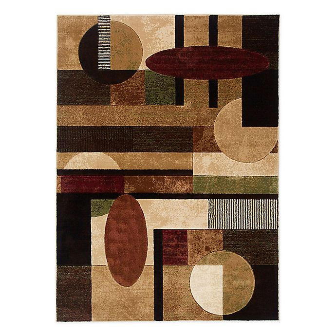 Alternate image 1 for Home Dynamix Tribeca Ovals and Lines 9-Foot 2-Inch x 12-Foot 5-Inch Area Rug