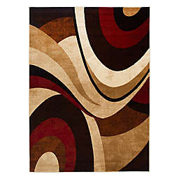 Home Dynamix Tribeca Waves 9-Foot 2-Inch x 12-Foot 5-Inch Area Rug