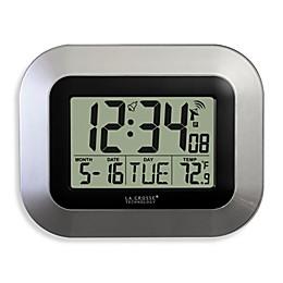 La Crosse Technology Atomic Clock with Temperature