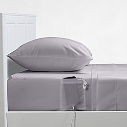 Distinct Dorm® 200-Thread-Count Twin XL Sheet Set with Cell Phone Pocket