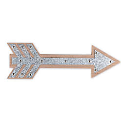 The Peanut Shell™ Farmhouse Arrow 16.5-Inch x 5.25-Inch Metal Wall Art