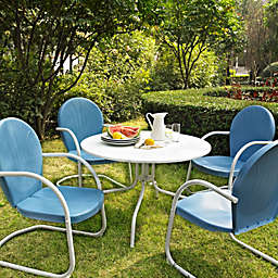 Crosley Griffith 5-Piece Metal Outdoor Dining Set