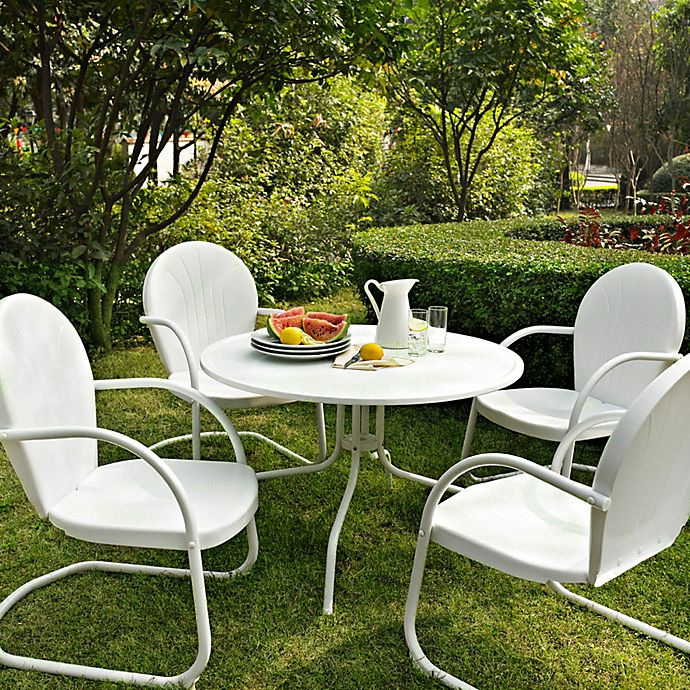 Alternate image 1 for Crosley Griffith Metal Outdoor Furniture Collection