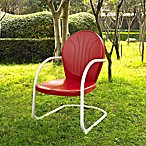 Griffith Metal Chair in Red Finish