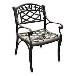 Crosley Sedona Outdoor Arm Chairs in Black (Set of 2)
