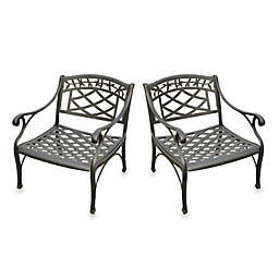 Crosley 2-Piece Sedona Outdoor Club Chairs Set