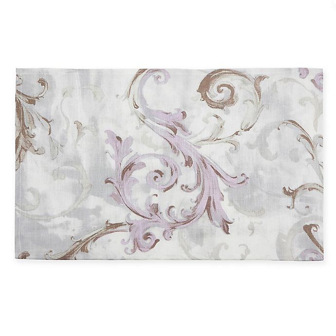 Alternate image 1 for Saro Lifestyle Fleur Douce Placemats in Lavender (Set of 4)