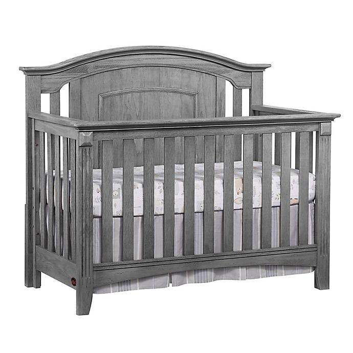 Alternate image 1 for Oxford Baby Willowbrook 4-in-1 Convertible Crib in Graphite Grey