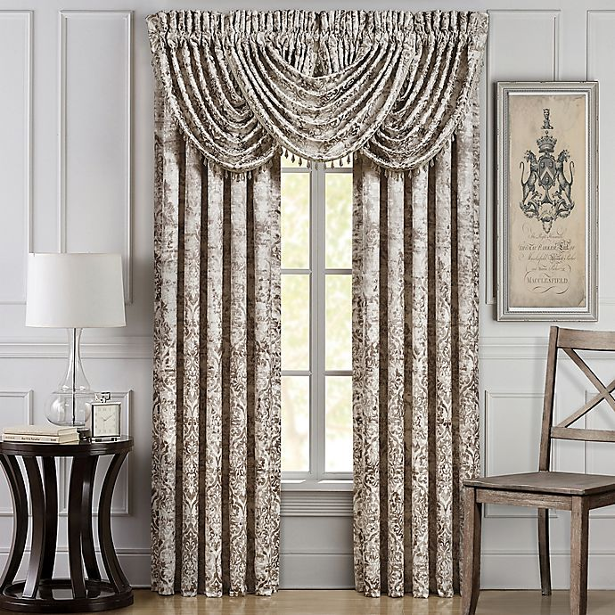 Alternate image 1 for J. Queen New York™ Dream 84-Inch Window Curtain Panel Pair in Natural