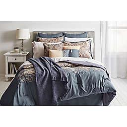 Courtland 14-Piece Queen Comforter Set in Slate/Gold