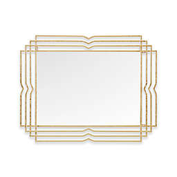 Madison Park Monroe 28-Inch x 36-Inch Wall Mirror