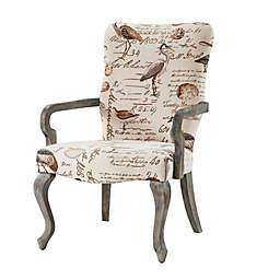 Madison Park Goose Neck Armchair